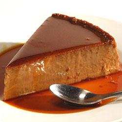 Chocolate Flavor Flan